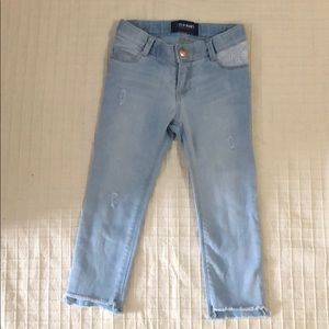Gap skinny adjustable waist pants size 3T EUC